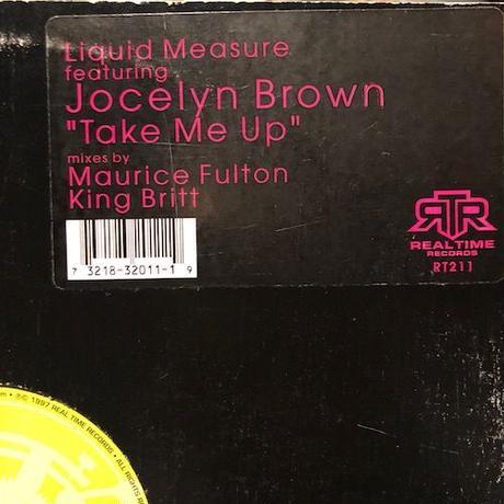 "(12""/ USED) LIQUID MEASURE featuring JOCELYN BROWN / Take Me Up  <house / soul / breakbeats>"