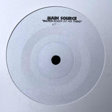 "(7"") MAIN SOURCE / WATCH ROGER DO HIS THING  <hiphop / rap>"