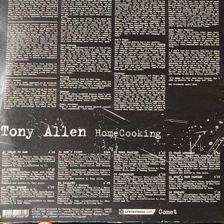 (2LP/ USED) Tony Allen ‎/ HomeCooking  <AFRO BEAT>