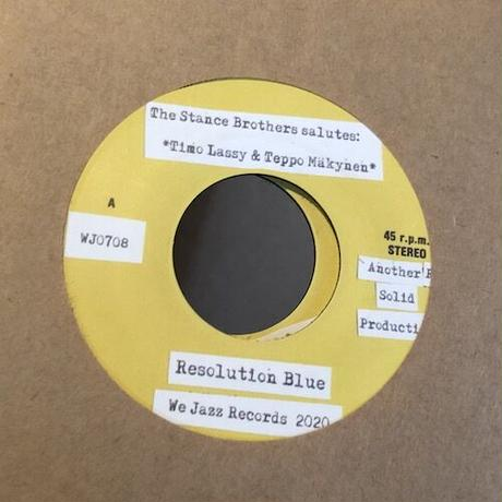"(7"") The Stance Brothers / Resolution Blue  <funk / jazz>"