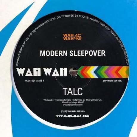 "(10""/ used) Talc / Modern Sleepover   <down tempo / AOR>"