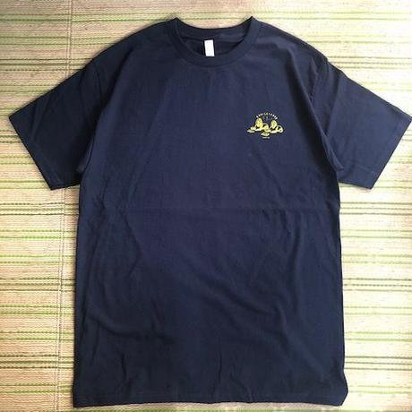 "(T-shirts) OBRIGARRD ""OBGD""  Tee -Navy-"
