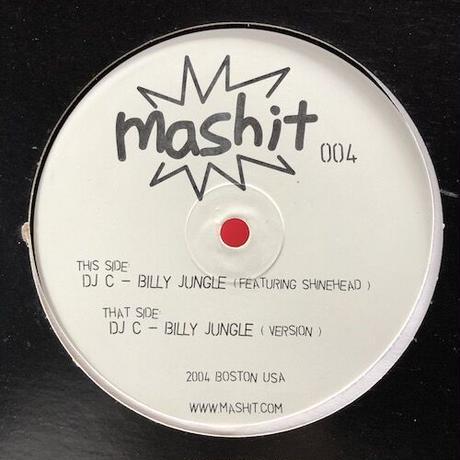"""(12""""/ USED) DJ C / Billy Jungle  <ragga jungle>"""