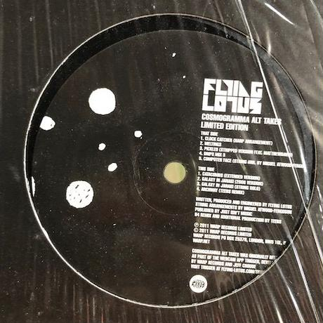 (LP/ USED) FLYING LOTUS / Cosmogramma alt takes Limited Edition <hiphop / beats / spaced out>
