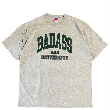 (Tee) BADASS 046 UNIVERCITY -Grey-