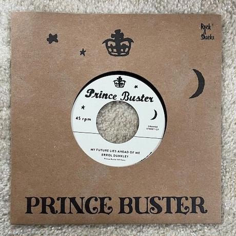 """(7"""") ERROL DUNKLEY / MY FUTURE AHEAD OF ME b/w  TEDDY KING / TO BE A LOVER  <rocksteady>"""