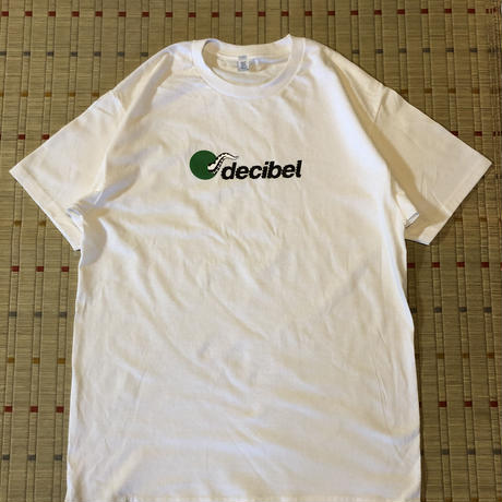 (T-shirts) decibel×sqez  white