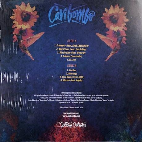 (LP) CARIBOMBO / Camaleon  <world / afro / electronics>