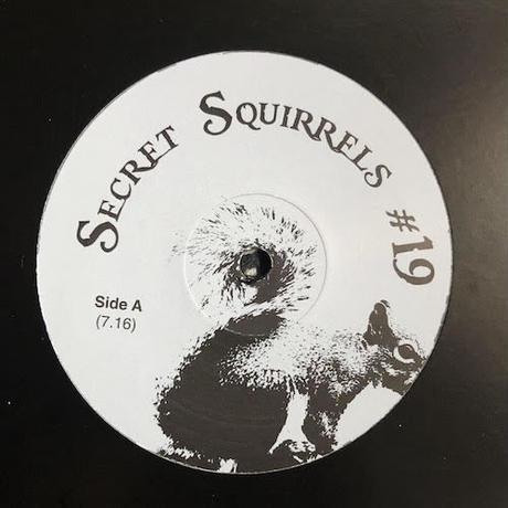 "(12"") Secret Squirrel  / Secret Squirrels #19    <house / boogie>"