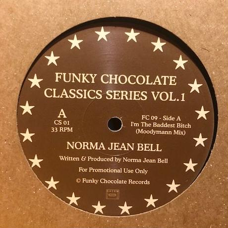 "(12""/ USED) NORMA JEAN BELL / I'm The Baddest Bitch  <house / soul / detroit>"