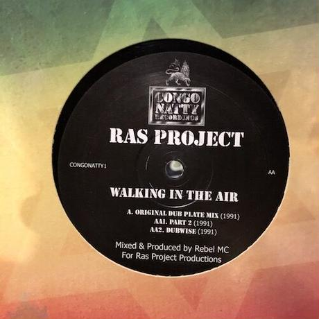 "(12""/ USED) Ras Project / Walking In The Air  <ragga jungle>"