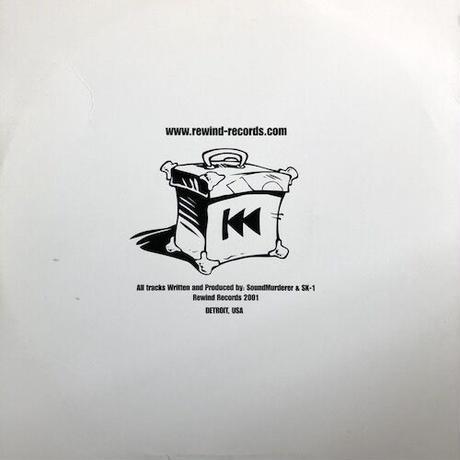"(12""/ USED) Soundmurderer & SK-1 / Badman   <ragga Jungle>"