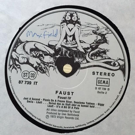 (LP/ used)  Faust - Faust IV   <rock >