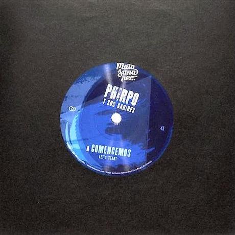 "(7"")PHIRPO Y SUS CARIBES / COMENCEMOS (LET'S START)  <salsa / latin / funk>"
