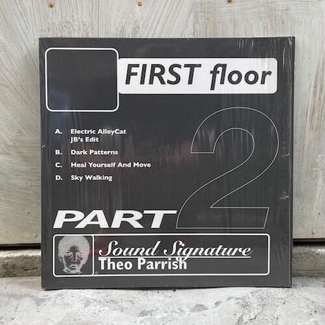 (2LP/USED) Theo Parrish / First Floor Part2  <house / beatdown>