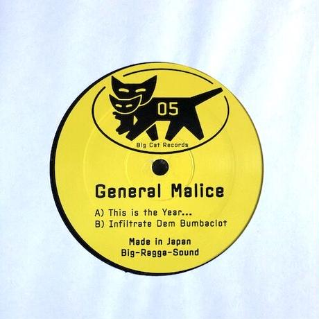 """(12""""/ USED) General Malice / This Is The Year...   <ragga jungle>"""