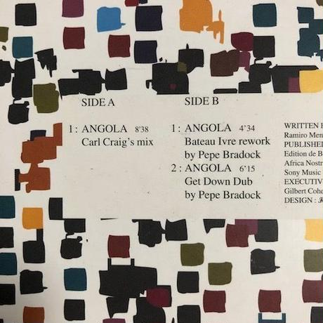 "(12""/ used) Cesaria Evora / Angola Remix   <tribal / house / world>"