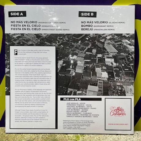 (EP) PLU CON PLA / NO MAS VELORIO REMIXES   <world / slo house / electronics>