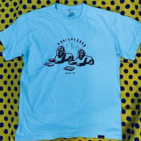 (T-shirts) mobbile deepsco  OBRIGARRD Summer Freeze Tee  Blue M/L/XL