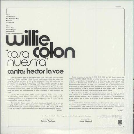 (LP) Willie Colon / Cosa Nuestra  <salsa / world>