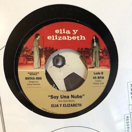 """(12""""+7"""") Elia y Elizabeth / Remixes De Oro - Alegría <world / house>"""