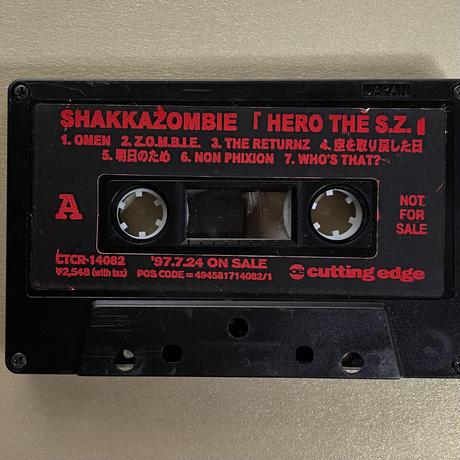 (tape/used) SHAKKAZOMBIE / HERO THE S.Z.  <hiphop /rap>