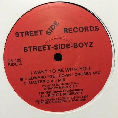 "(12""/ used) Street-Side-Boyz / I Want To Be With You  <house / chicago>"