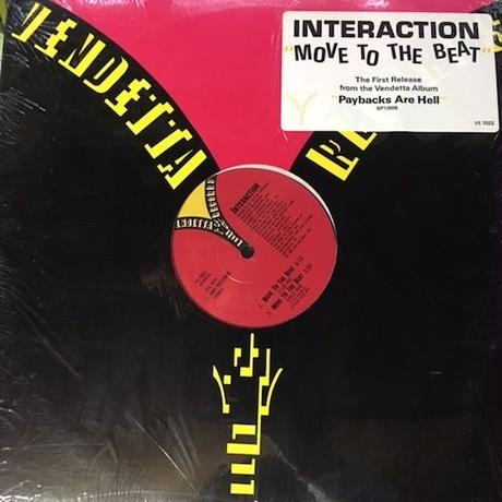"(12"" / used) Interaction / Move To The Beat   <electro / house>"