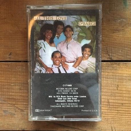 (TAPE) DeBARGE / All This Love      <soul / used>
