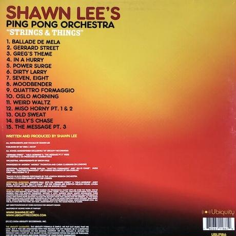 (2LP / used) Shawn Lee's Ping Pong Orchestra / Strings & Things