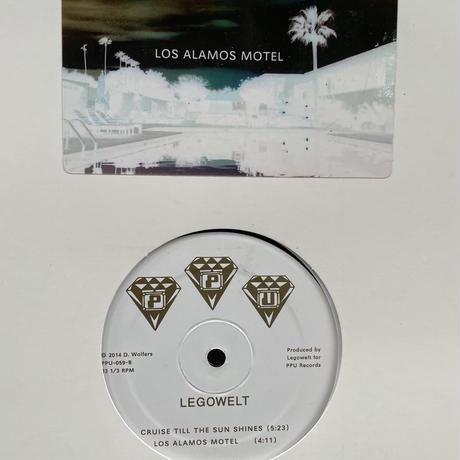 "(12""/ used) LEGOWELT / LOS ALAMOS MOTEL   <deep house / electronics>"