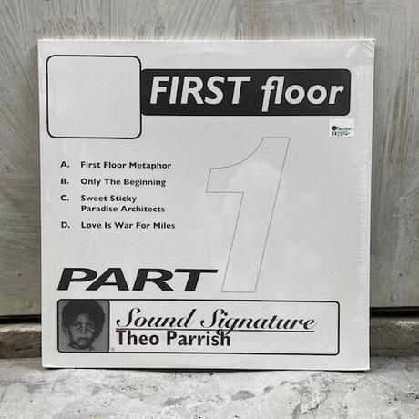 (2LP) Theo Parrish / First Floor Part1  <house / beatdown>