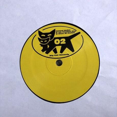 "(12""/ USED) General Malice / Jah Kingdom Rise  <ragga jungle>"