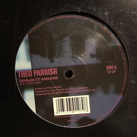 "(12""/ used) Theo Parrish / Stop Bajon   <house / beatdown>"