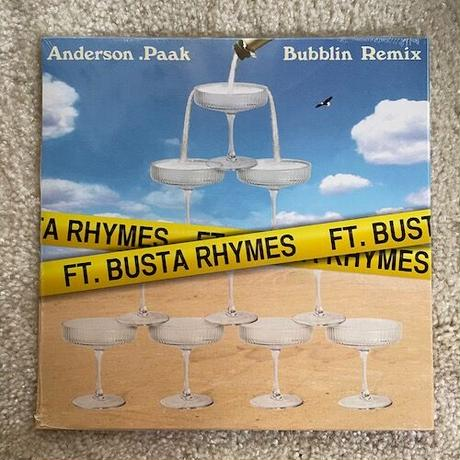 "(7"") Anderson .Paak / Bubblin' remix   <R&B / soul / HIPHOP>"