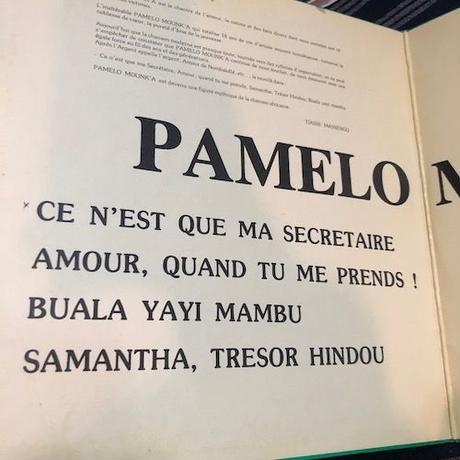 (LP/ USED)Pamelo Mounk'a / Samantha  <africa / world>