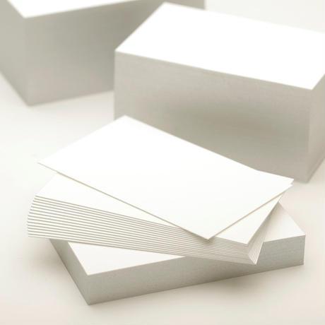 小口染め名刺用紙 ラフシルバー(銀)50枚入
