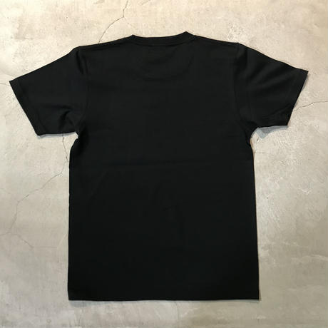 D18006《Pocket Tshirts》C/# BLACK