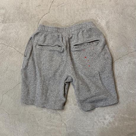 Paintdamage Sweat Shorts 19009 C/# GRAY