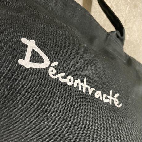 Canvas  Zip Tote Bag C/# BLACK(予約生産)