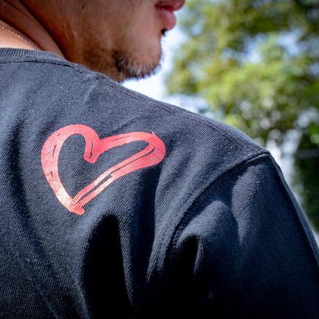 Random Logo L Tshirt C/# BLACK