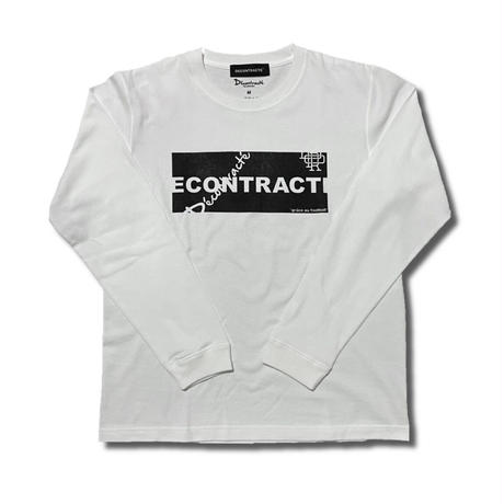 Random Logo L Tshirt C/# WHITE
