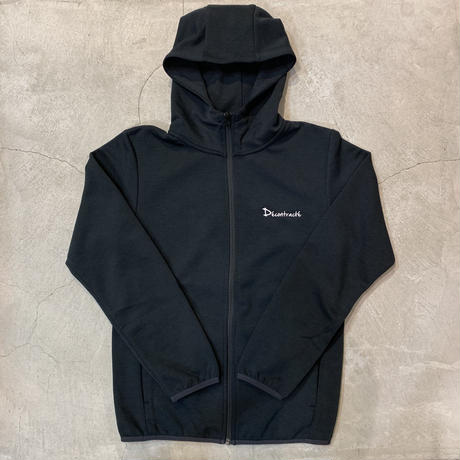 Dry Cotton Zip Hoodie 19002 C/# BLACK