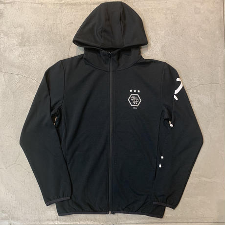 D19018《Dry Cotton Zip Hoodie》 C/# BLACK