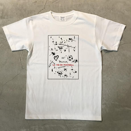 D18014《Paint T shirt》C/# WHITE