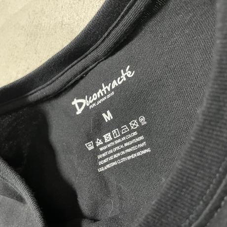Big Silhouette T-Shirt C/# BLACK(予約生産)
