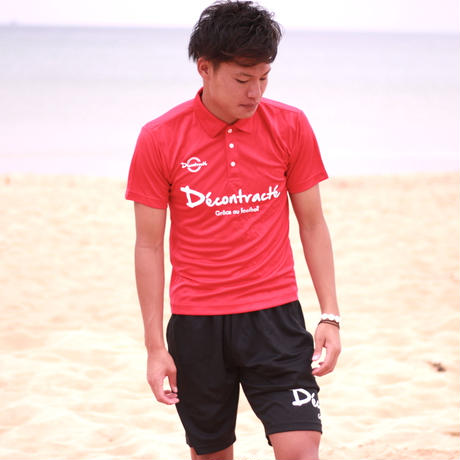 D18008《Dry Silky Touch Poloshirt》C/#  RED