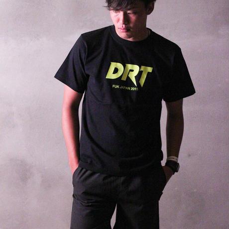 DRT Tshirts 2007  C/# BLK×NEON YEL