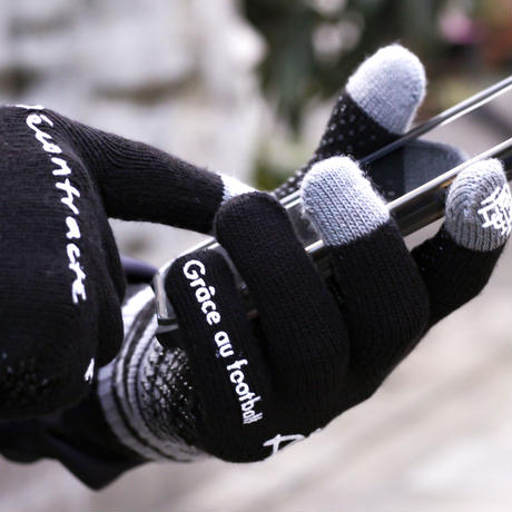Training Knit Glove  C/# BLACK