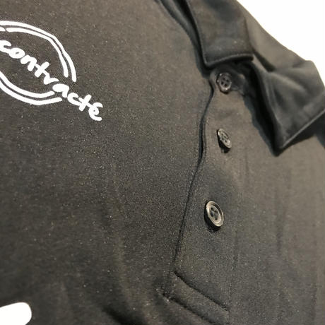 Dry Silky Touch Poloshirt 18008 C/#  BLACK